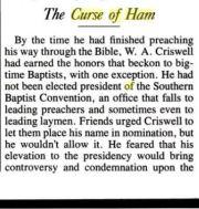 The Curse of Ham 1